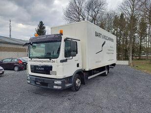 شاحنة مقفلة MAN TGL 8.180 taillift/hayon - euro 5 - very good tyres