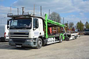 شاحنة نقل السيارات DAF CF 360 + العربات المقطورة شاحنة نقل السيارات