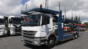 شاحنة نقل السيارات MERCEDES-BENZ 1829 6x2 autotransporter Kassbohrer Citytrans