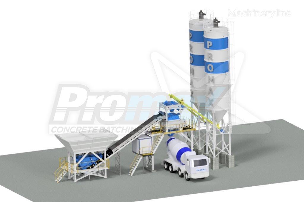 جديد ماكينة صناعة الخرسانة PROMAX Compact Concrete Batching Plant C100-TWN PLUS (100m³/h)
