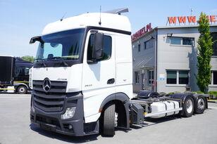 شاحنة نقل الحاويات MERCEDES-BENZ Actros 2542 , E6 , 6X2 , MEGA , BDF , chassis 7,9m , steer axle