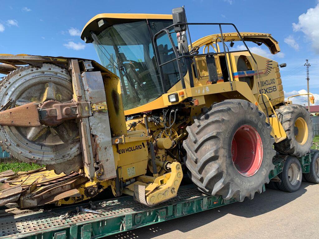 حصادة الأعلاف NEW HOLLAND FX58 من قطع الغيار