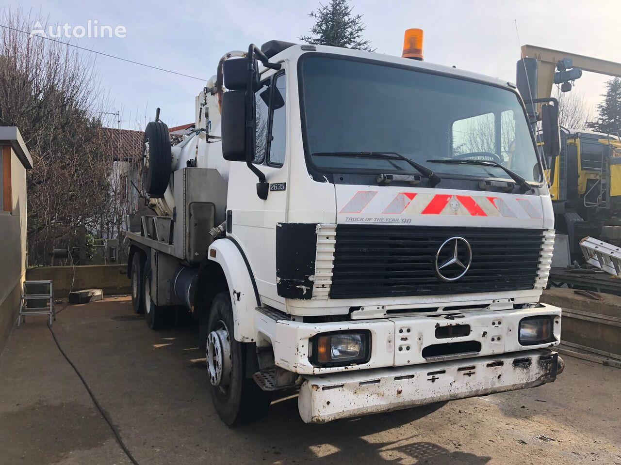 شاحنة نقل الوقود MERCEDES-BENZ 2635
