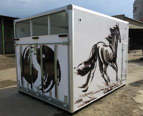 جديد камион за превоз на коне ИСТОК