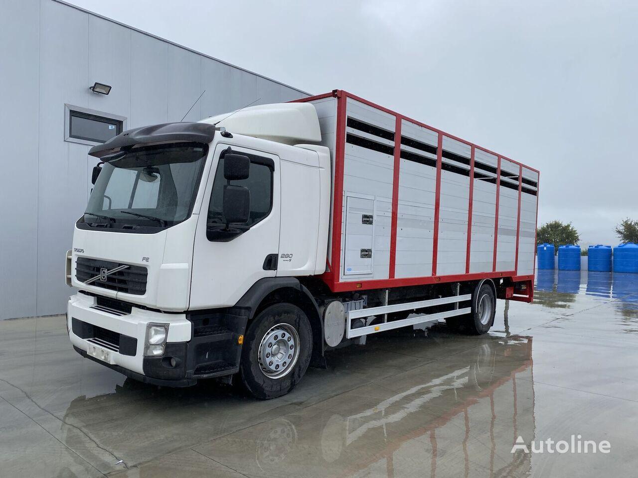 شاحنة نقل المواشي VOLVO FL 280