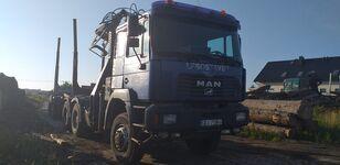 شاحنة نقل الأخشاب MAN Fe 460 6x6