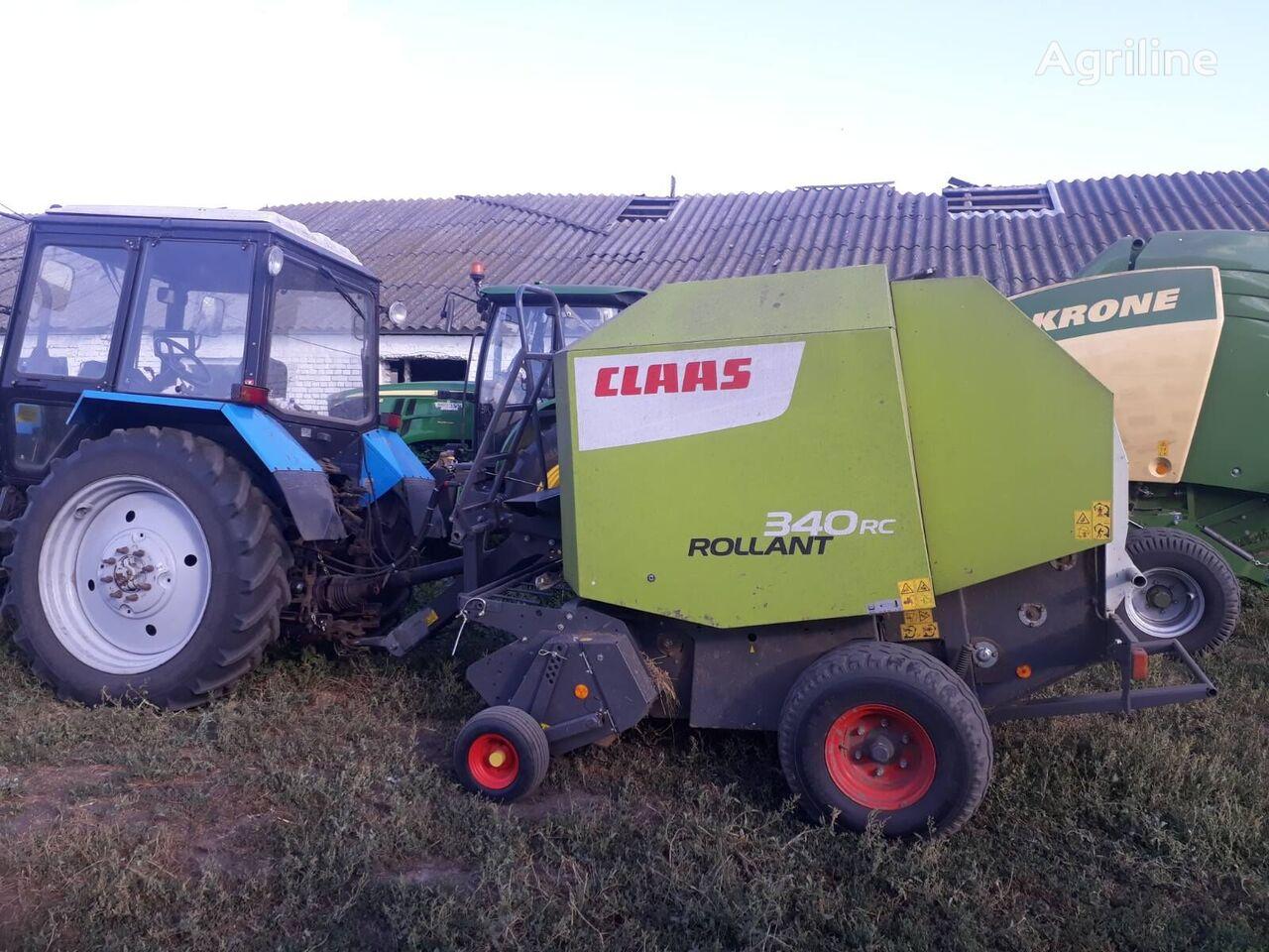 آلة جمع وكبس ولف الأعلاف والتبن CLAAS Rollant 340 RC