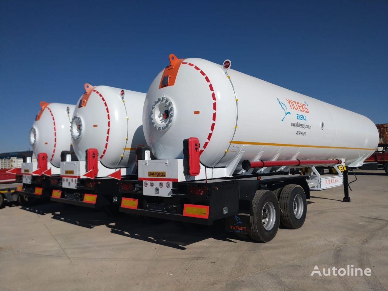 جديد عربة الصهريج لنقل الغاز YILTEKS  LPG Transport Tank