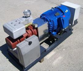 ضاغط الهواء aggregate with 30kW electric engine and CG80 لـ عربات الصهريج