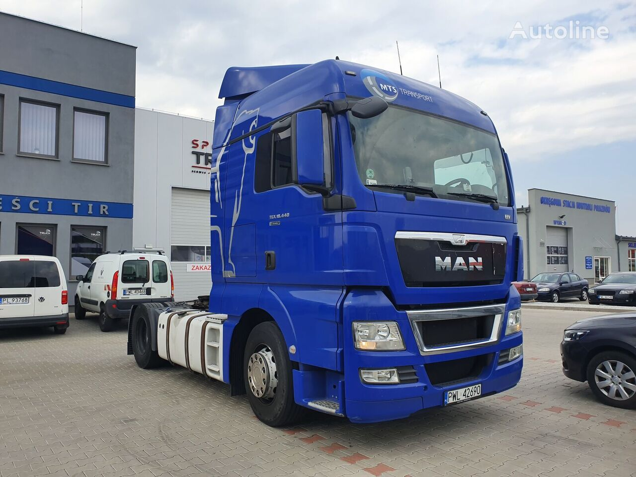 السيارات القاطرة MAN TGX 18.440, Steel/ Air, Automat, Very clean