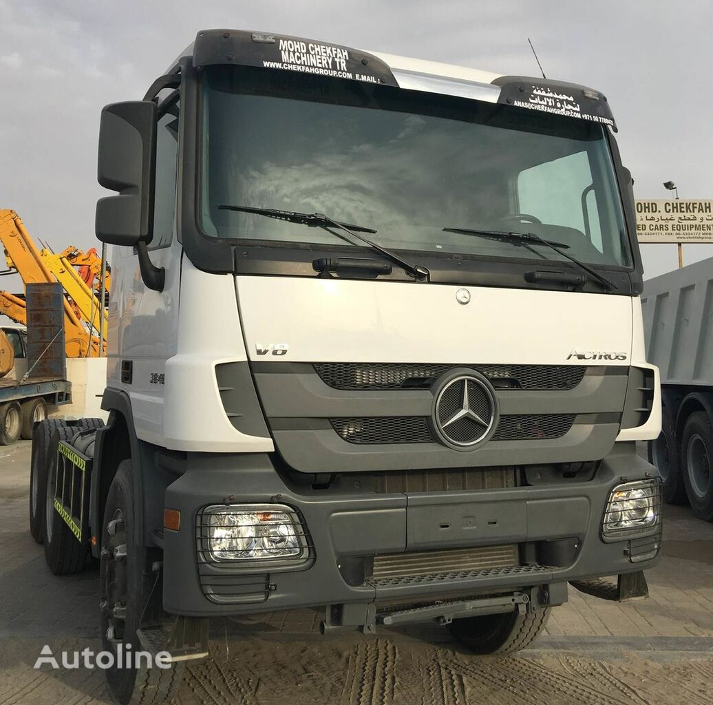 بيع السيارات القاطرة MERCEDES-BENZ ACTROS 3848 من الإمارات