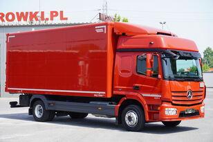 شاحنة مقفلة MERCEDES-BENZ Atego 1224, E6, 4x2, 6.10m container, GLOB cabin, retarder