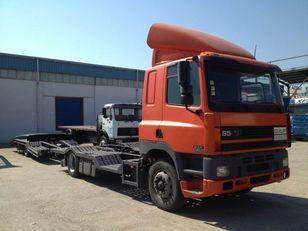 شاحنة نقل السيارات DAF CF85.380 ATI EURO2 TRUCK / TRACTOR TRANSPORT + TANDEM + العربات المقطورة شاحنة نقل السيارات