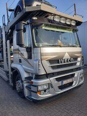 شاحنة نقل السيارات IVECO Stralis 400 + العربات المقطورة شاحنة نقل السيارات
