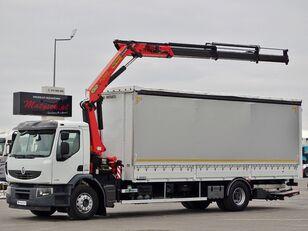 شاحنة ذات أغطية جانبية RENAULT LANDER 320 DXI