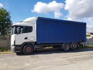 شاحنة ذات أغطية جانبية SCANIA 114-380 (6X2 / MANUAL GEARBOX / RETARDER)