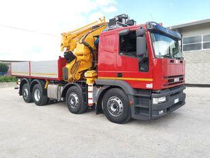 شاحنة قلابة IVECO 440E42 - Gru EFFER 680 / 22 Tons - 35 m