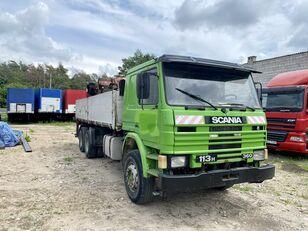 شاحنة قلابة SCANIA 113H 360 dump crane truck