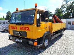 شاحنة مسطحة MAN LE 8.180 RUKA PK4501