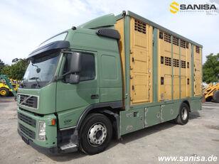 شاحنة نقل المواشي VOLVO FM420/Menke-Janzen Viehtransporter 3Stock