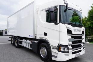 شاحنة التبريد SCANIA SCANIA R500, Euro 6, 6x2, 19 EPAL refrigerator , lifting axle, N