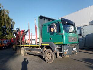 شاحنة نقل الأخشاب MAN-VW TGA 33.480
