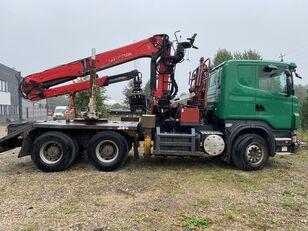 شاحنة نقل الأخشاب SCANIA R500 V8 6x4 Euro5 EPSILON 300